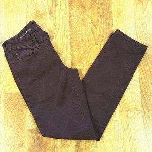 Ann Taylor Loft Plum Modern Skinny Jeans 26/2